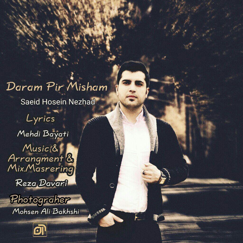 آهنگ جدید سعید حسین نژاد به نام دارم پیر میشم